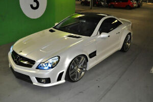MERCEDES SL R230 WIDE BLACK SERIES BODY KIT TOP DESIGN