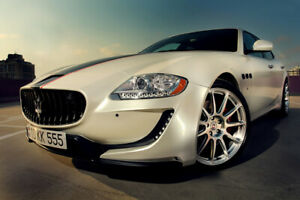 MASERATI QUATTROPORTE 2008-2012 - FULL BODY KIT WALD TOP DESIGN