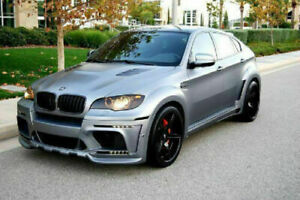 BMW X6 X6M E71 HM FULL BODY KIT TOP DESIGN