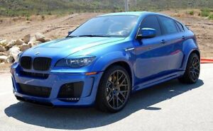 BMW X6 X6M E71 2008-2014 LM BODY KIT TOP DESIGN