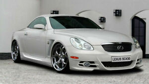 LEXUS SC430 FULL BODY KIT TOP DESIGN