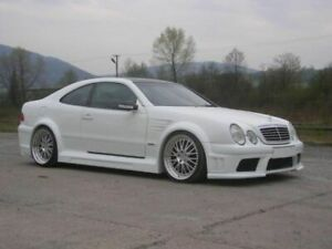 MERCEDES CLK W208 FULL BODY KIT TOP DESIGN
