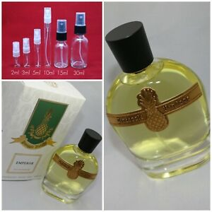 Parfums Vintage EMPEROR EDP Authentic SAMPLE 2ml 3ml 5ml 10ml Glass Spray