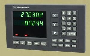 2 Axis EL300 Magnetic Digital Readout Lathe 8quot;x30quot; DRO Kit w 6 Year USA Warranty $718.00