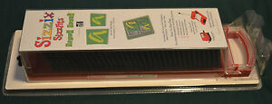 NEW SEALED ~  SIZZIX SIZZLITS  BOXED BRUSH   ALPHABET SET 35 DIES  140 SHAPES