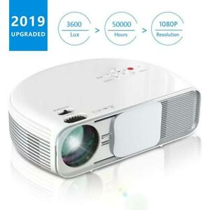 Projector iBosi Cheng Video 2019 Newest Native 720P Home Theater LCD HD...