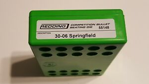 55148 REDDING COMPETITION SEATING DIE - 30-06 SPRINGFIELD - NEW - FREE SHIP