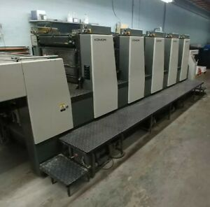 (😳😀Price Reduction!!!) Komori Lithrone L-528 Printing Press 20×28