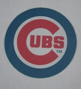 1 Chicago Cubs BASEBALL MLB 18X18 SEWING BLOCK QUILTING SQUARE REDBIRDS FABRIC $12.99