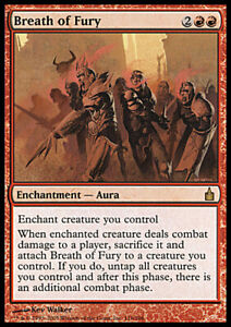 Breath of Fury  Ravnica  MTG Magic the Gathering