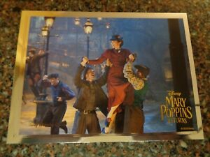 Mary Poppins Returns Exclusive Lithograph Disney Movie Club Limited 5.25 X 6.75 $17.49