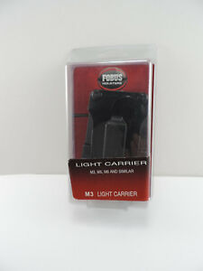 Fobus M3 Paddle Style Tactical Light Carrier Fits M3/M5/M6 Scorpion