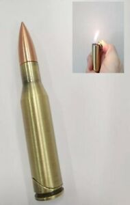 Quality Durable Metal Bullet Lighter Butane Refillable Flame Adjustable