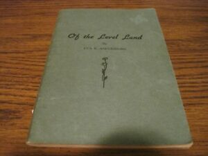 VINTAGE OF THE LEVEL LAND BOOK $9.99