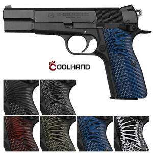 Coolhand G10 Gun Grips for Browning Hi Power and Tisas Regent BR9 HP-N1