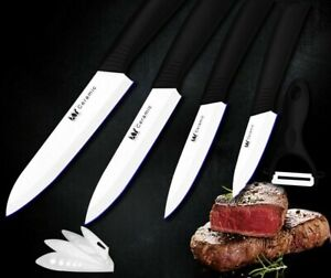 Cooking Kitchen Knife Set Ceramic Tools For Utility Slicing Peeling Sharp Knives
