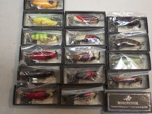 Winchester Lure Little Sac Mini Collection - 15 Pieces - All NewSealed WBoxes