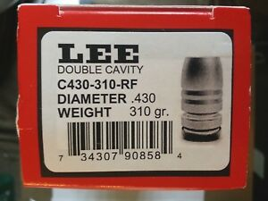 Lee 2-Cavity Mold C430-310-RF--#90858-Gas Checked .44 Cal. 310 gr. RNFP #90858