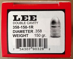 Lee 2-Cavity Bullet Mold 358-150-1R 38 Special 357 Magnum --#90328