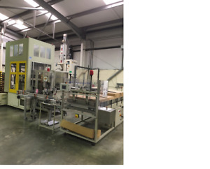 2002 Aoki SBIII 250-LL-50S Injection Stretch Blow Molding system