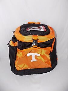Tennessee Volunteers ORANGE Cooler Backpack Black  16 x 16 NWT