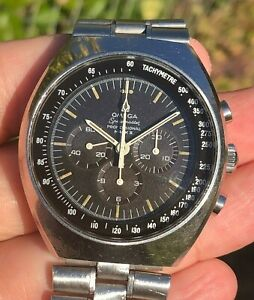 OMEGA Speedmaster Mark 2 Chronograph Manual Wind Cal 861 TROPICAL DIAL 145.014