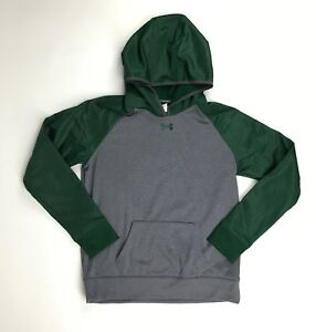 New Under Armour Storm Water Resistant Hoodie Women's M Gray Green $65 1247774 $17.49