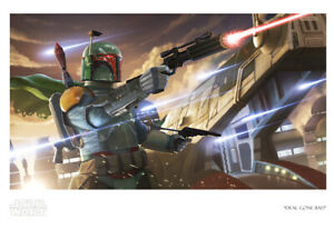 Star Wars Boba Fett with Slave 1