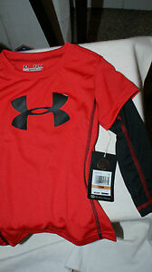 Baby Under Armour Performance HeatGear Long Sleeve Shirt NWT NEW $27.99 $15.19