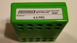 55487 REDDING COMPETITION SEATING DIE - 6.5 PRC - BRAND NEW - FREE SHIP