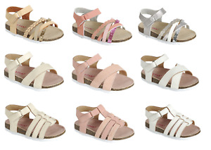 Baby Toddler Girls Sandals 3 Styles Open Toe Summer Beach Shoes Size 4 5 6 7 8
