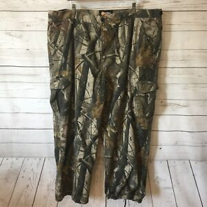 Outfitters Ridge Mens Pants Drawstring Ankle Camouflage Camo Hunting 2XL 44 46