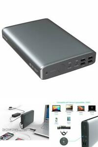 External Battery Power Bank Charger For Cell Phone And Laptop 50000mAh Dual USB
