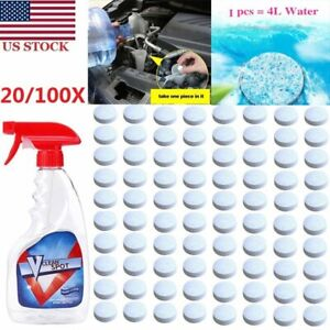 20/100PC Multifunctional Effervescent Spray Cleaner Set Concentrate V Clean Spot