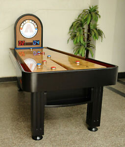 Snap-Back Shuffleboard Snap - Back Summit 7' Shuffleboard Table