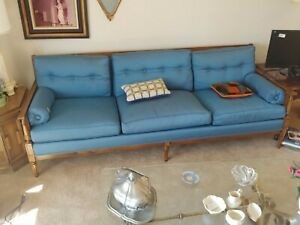 Vintage Jamestown Royal Couch Blue CIRCA 1960sMuseum Quality