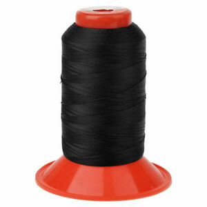 1Pc Extra Strong Upholstery Thread Bonded Sewing Spool 650 Meters Black $2.84