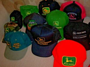 RARE VINTAGE FARM AGRICULTURE SEED TRUCKER  HAT LOT OF 100      6 ARE K PRODUCT