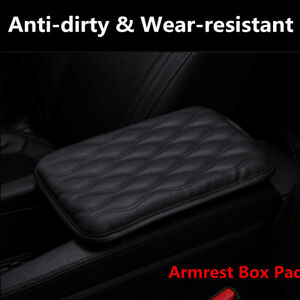 Waterproof Anti dirty Car PU Leather Armrest Pad Cover Center Console Cushion $14.98