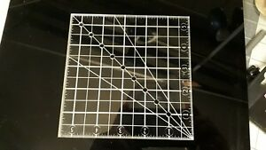 Acrylic Grid Square Quilting Ruler 5.5x5.5 $9.99
