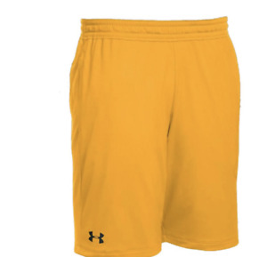 Under Armour UA HeatGear Men's Pocket Raid 10 Shorts 1310133 Yellow Gold $35 $13.04