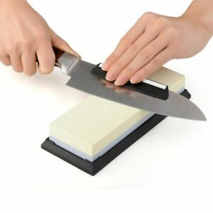 Knife Sharpeners Grindstone Professional Sharpening Stone For All Kitchen Knives