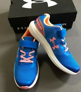 Under Armour Surge Prism Rn Kids Running Shoes Youth Size 1.5 2 2.5 NEW