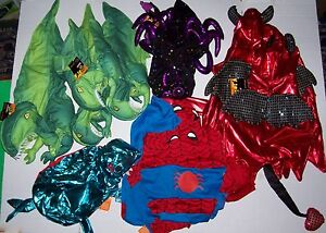 New Dog costumes with damage Top Paw 75% discount S M L Spider Devil Halloween