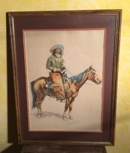 1901 Bunch Of Buckskins Frederic Remington By Robert Howard Russell