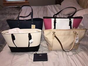 Lot Of 5 AUTHENTIC Designer Bags BRAND NEW WITH TAGS