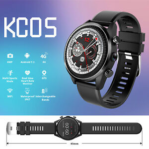 Wifi Bluetooth Smart Watch 4G Android 7.1 GPS 16GB Phone Mate for IOS Android