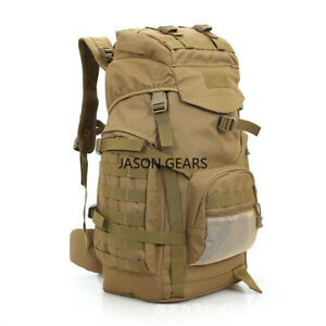 New Design Molle Camping Tactical Backpack Large Waterproof Backpacks