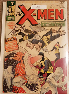 X-Men #1 signed by Stan Lee