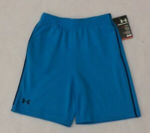 Under Armour Boys Toddler Zinger Knit Pirate Blue Shorts 2T